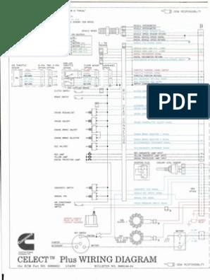 [NRIO_4796]   Wiring Diagrams L10 M11 N14 | Throttle | Fuel Injection | Cummins Fire Engine Diagrams Free |  | Scribd