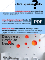 O valor do Design e a gestão do negocio