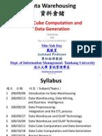 Data Cube Computation and Data Generation