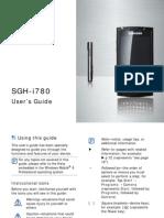 Samsung i780 Manual