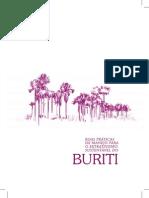 Cartilha extrativismo sustentável do buriti