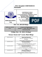 Printable Final Program ISEM-PSRC Conference Bangkok Dec_ 23-24, 2011 Updated on 117-12-2011(1)