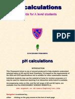 pH Calculations