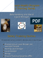 Liquid Nitrogen Safety Training