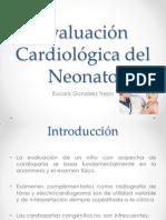Evaluación cardiológica del Neonato
