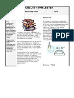 Year 6 Summer Term Curriculum Newsletter