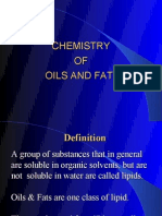 Chemistry of Fats & Oils