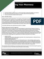 Pharmacy Residency CV Guide