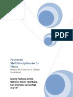 Proyecto Multidisciplinario de Fisica FINAL