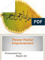 Power Factor Improvement by Majid Ali