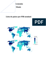 PIB Paises Estados e Municipios