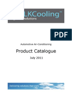 Automotive Air Conditioning Product Catalogue 2011