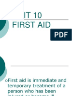 Unit 10 Fist Aid