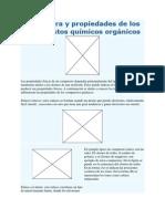 Estructura y propiedades de los compuestos químicos orgánicos