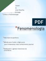 Fenomenologia (1)