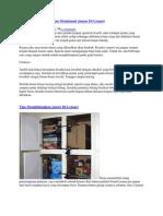 Cara Menghilangkan Dan Membasmi Jamur Di Lemari