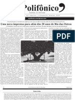 Jornal o Polifonico Numero Zero