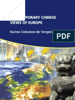 Contemporary Chinese Views of Europe