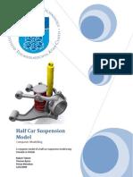Half Car Suspension Model