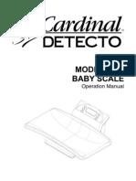 Detecto-8440 User Manual
