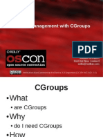 Resource Allocation for Linux With Cgroups Presentation