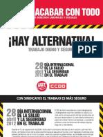 28 de abril. Día Internacional de la Salud y Seguridad en el Trabajo