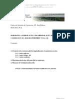 Control de resistencia y ensayos de compresión