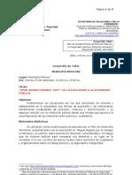 2011-09-16 Propusta Taller Municipio MOSCONI CPN PDT