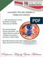 TIPS A TENER EN CUENTA EN EL DISEÑO