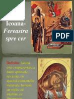 Icoana- Fereastra Spre Cer. Power Point.