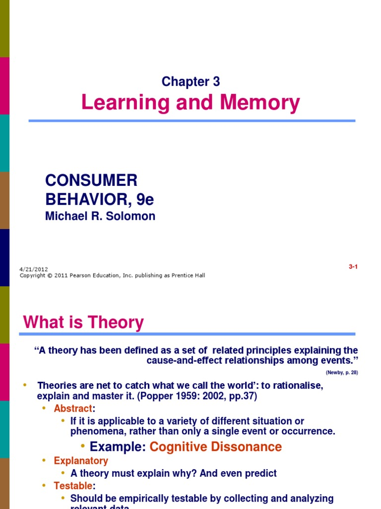 Solomon Cb09 Ppt 03 Classical Conditioning Learning
