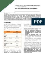 Informe 1 Quimica de Alimentos