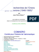 1946 1995 Recherches Onera Aviation