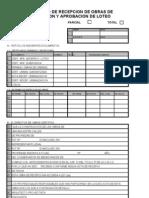 Certificado de Recepción Definitiva de Obras de Edificación