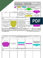 Project Calendar Sample