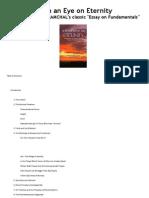 RaMCHaL Essay - With an Eye on Eternity