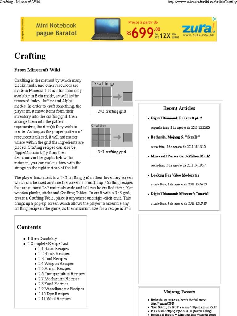 Crafting minecraft wiki minecraft magenta forumfinder Gallery
