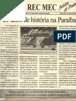Jubileu de Prata do 16º R C Mec -  25 anos de história na Paraíba.