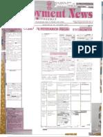 Employment News epaper | Rojgar Samachar | रोजगार समाचार New Delhi Edition 21 - 27 April 2012 Vol. XXXVII No. 3