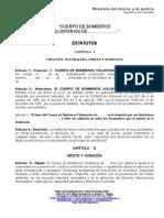 Estatutos Nacionales de Bomberos Aprobaado Acta 49 Jncb