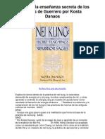 Nei Kung la enseñanza secreta de los sabios de Guerrero por Kosta Danaos