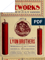 Firework Catalog 1903
