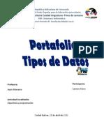 Portafolio_Tipos de Datos Carmen