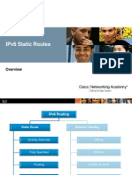 Overview of IPv6 Static Routing