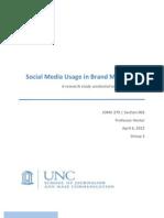 JOMC 279 Research Study