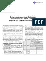 Infracciones y Sanciones as Con La DJ Anual Del IRTC