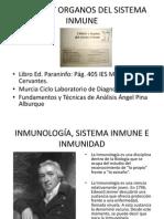 Células y órganos del sistema inmune
