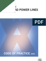 Work Near Overhead Power Lines Code of Practice 1394