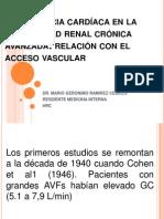 Insuficiencia cardíaca en la enfermedad renal crónica