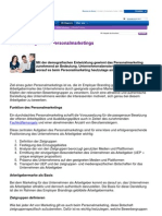 Grundlagen des Personalmarketings